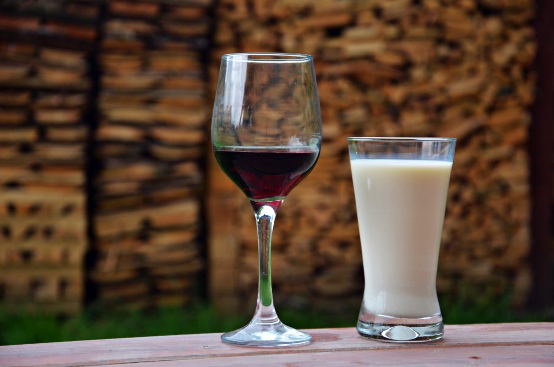 Wino i mleko